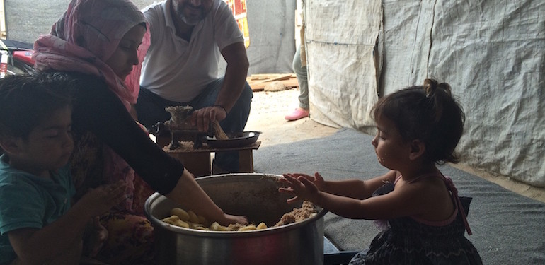 Sara Manisera, Libano, siriani, rifugiati, guerra