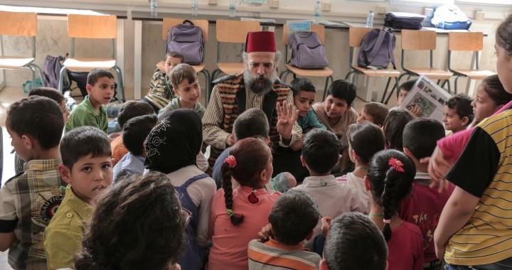 Syria in my mind, bambini, memoria, siria, libano, archeologia