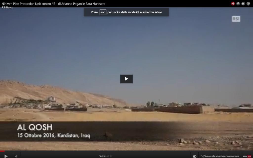 Iraq, guerra, liberazione mosul, milizie cristiane, assiri