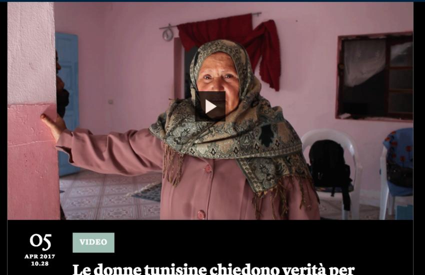 Tunisia, donne, scomparsi, figli, ricerca, madri