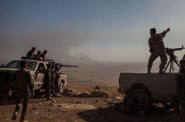 Iraq, conflitto liberazione Mosul, reportage