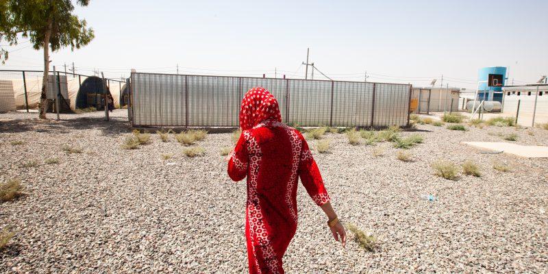 Donne in fuga, kurdistan iracheno, isis, mosul