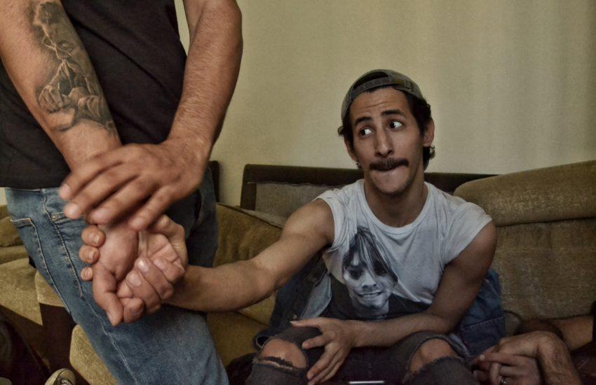 Sivar 19 anni, transessuale, nel centro Helem di Beirut, Sara Manisera
